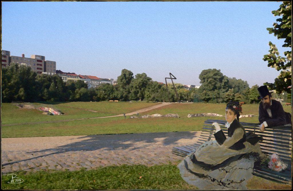 Warten im Görlitzer Park